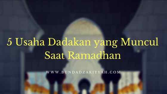 usaha saat ramadan