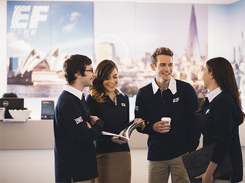 EF tempat kursus bahasa inggris