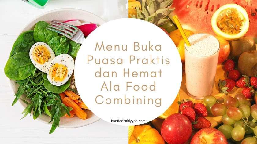 menu buka puasa praktis