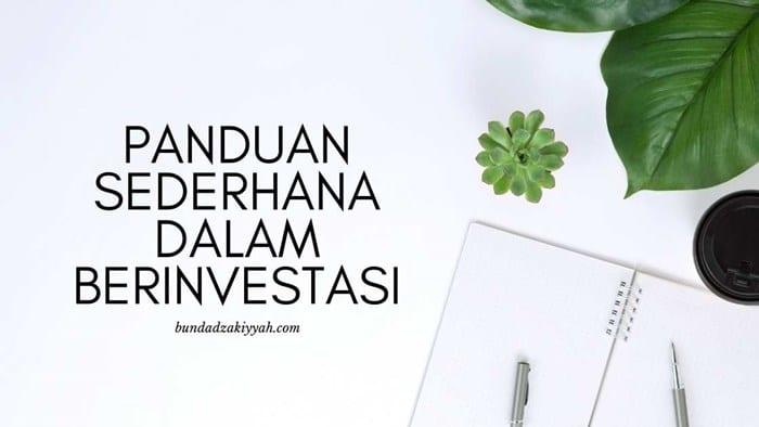 panduan sederhana dalam berinvestasi