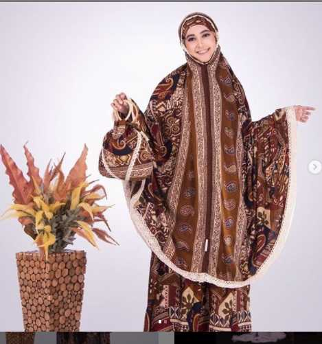 mukena batik daimah collection