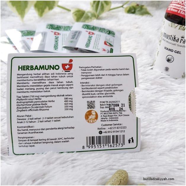 jaga daya tahan tubuh dengan herbamuno