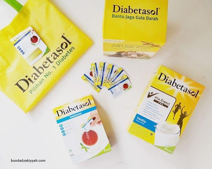 Produk Diabetasol sebagai nutrisi tambahan diabetesi