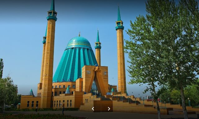 Mashkhur Jusup Central Mosque